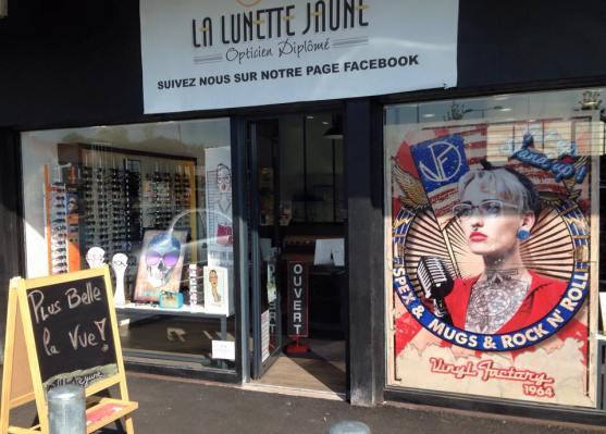 La devanture branchée de la boutique, I love it!