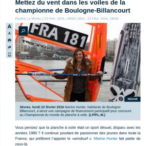 Interview Le Parisien 92 - 23 février 2016