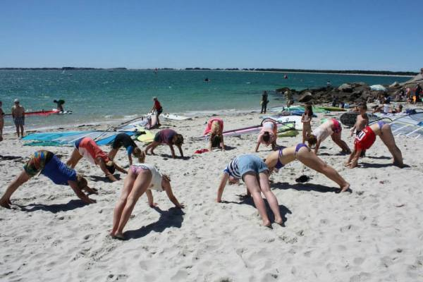 défi des filles yoga