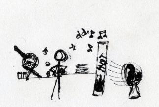 Merci à Arnaud! Avant il avait des voiles qui sifflaient des airs de musique sur l'eau, c'était joyeux, c'était le mappa style! Grosse bise