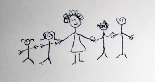 Ma maman voulait être la première à contribuer mais Sof (la petite dernière) lui a fait de l'intox ^^ merci à elle pour être présente dans les moments de joie comme de peine!