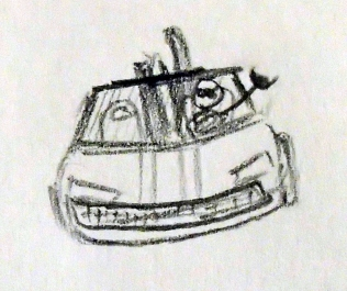 Merci à Pierre Buchmann, qui a compris que la vie ça se passe en voiture de sport décapotable ^^