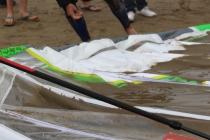 Une des nombreuses victimes du shorebreak