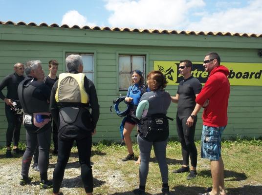 Présentations et briefing