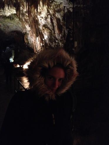 On a vu un ours dans la grotte!