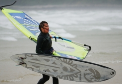 Windsurf ka sail marine hunter
